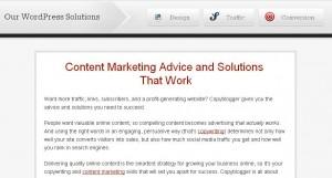 copyblogger דוגמה לדף אודות